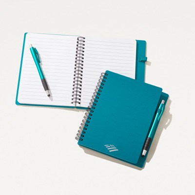 Flagscape Textured 6x7 Notebook with Pen