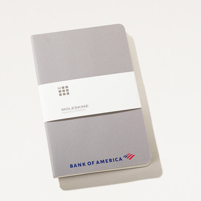 Bank of America Moleskine® 5x8.25 Cahier Notebook