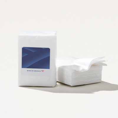 Bank of America Mini Tissue Pack