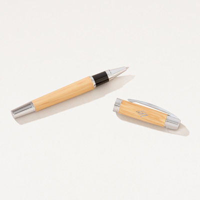 Flagscape Bamboo Roller Ball Pen