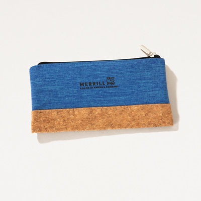 Merrill Cork Accent Pouch