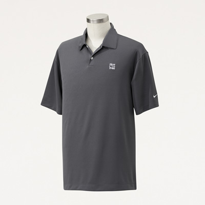 Bull Nike® Men's Pebble Texture Polo
