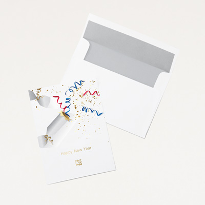 Bull New Year Card - 25 Pack