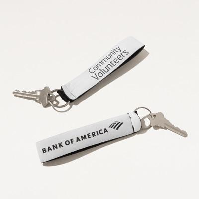Community Volunteers Wristband Key Ring