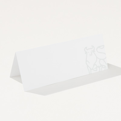 Bull Recycled Name Tent - 50 Pack