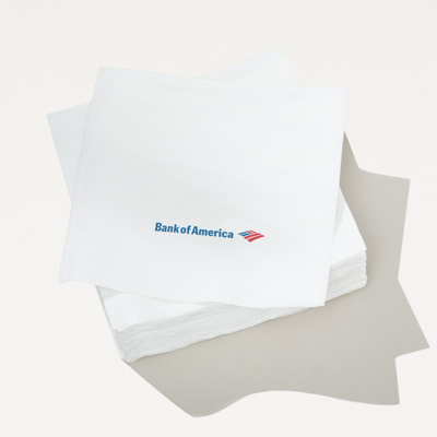 Bank of America Recycled Cocktail Napkin - 250 Pack