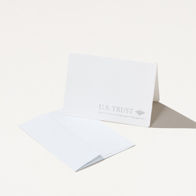 U.S. Trust Small Note Card - 10 Pack