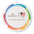 Comcast USOC Round Mouse Pad