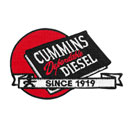 Cummins Diesel Patch - Small Red Ball (CI0032)