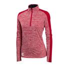 Ladies' Electric Heather 1/4-Zip Pullover