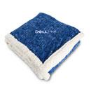 Dell EMC Heathered Fleece Sherpa Blanket
