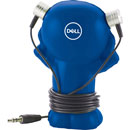 Dell Little Guy Wired Earbuds and Holder