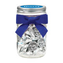 Dell Mason Jar with Custom Hershey's® Kisses®
