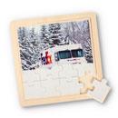 Ground Winter Truck Puzzle