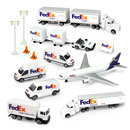 FedEx Transportation Fleet Set