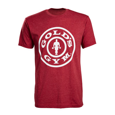 Men's Cardinal Weight Plate Tee