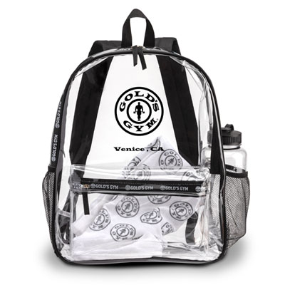 Clear PVC Backpack – Venice, CA