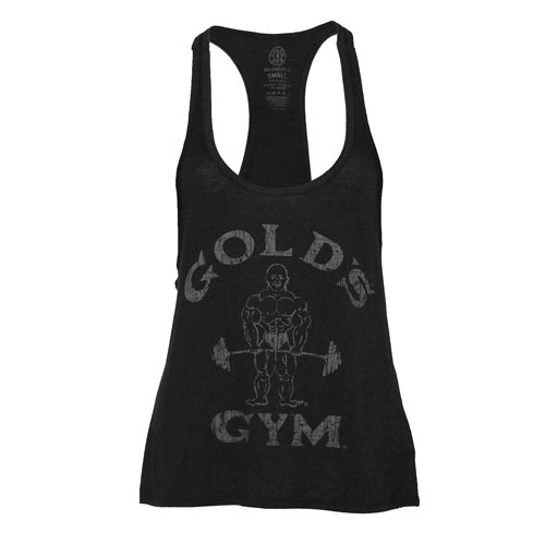 Ladies' Classic Joe Stringer Tank -Black