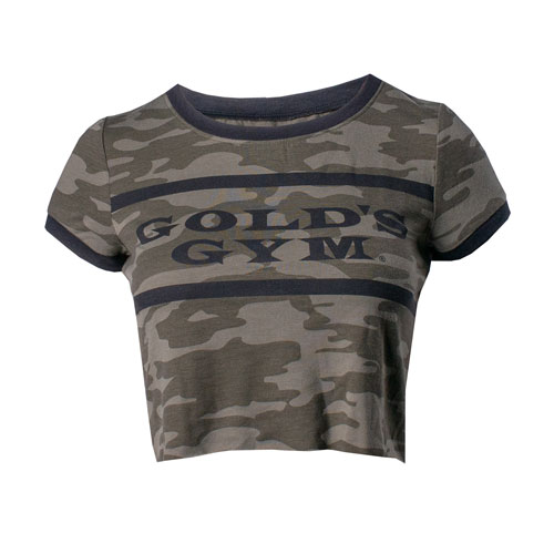 Ladies' Camo Crop Tee