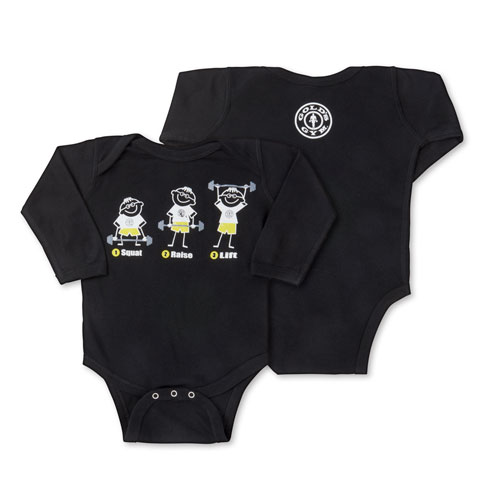 Infant Squat Raise Lift Bodysuit