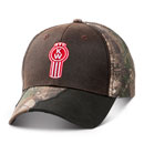 Frayed Camo Bill Cap