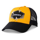 Black & Yellow Quilted Duck Hat