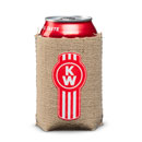 Burlap Can Cooler