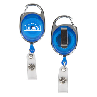 Lowe's Carabiner Badge Reel