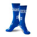 LOW LIL Jaquard Socks Blue