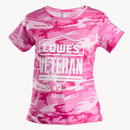 Ladies' Veterans Camo T-shirt