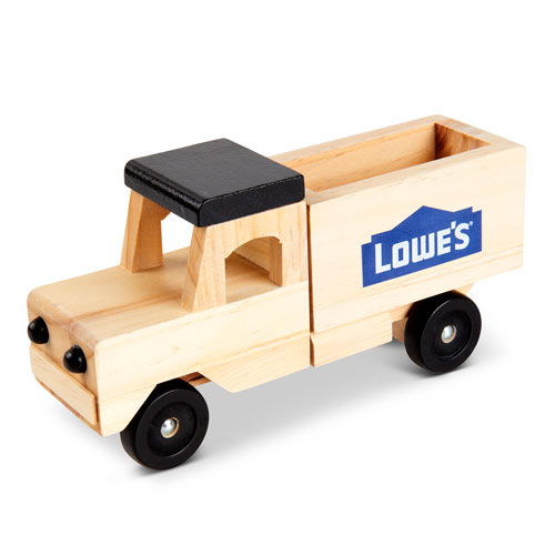 Wooden Delivery Toy Truck