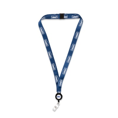 Lanyard with Retractable Badge Reel