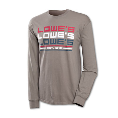 Men's Pewter LS T-Shirt