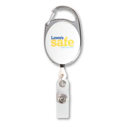 Lowe's Safe Carabiner Badge Reel