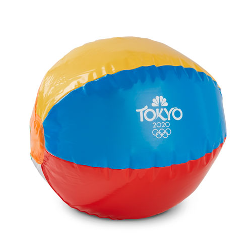 Tokyo 2020 Swirl Beach Ball