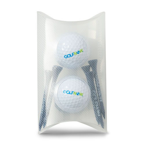 Golf Now Two-Ball and Tee Set