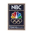 PEACOCK AND RINGS TOKYO PIN