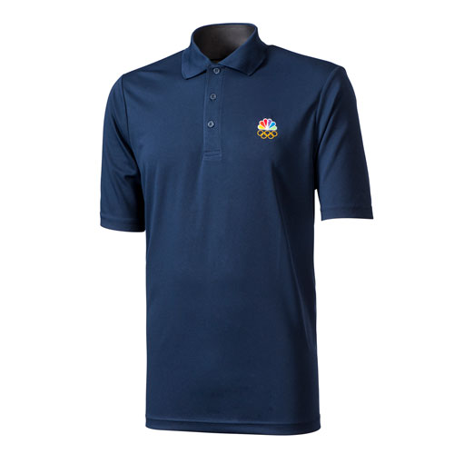 Peacock & Rings Mens Performance Polo