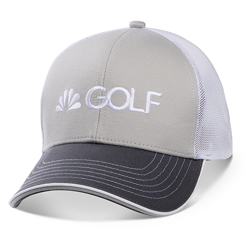 Golf Channel Gray Chino Cap