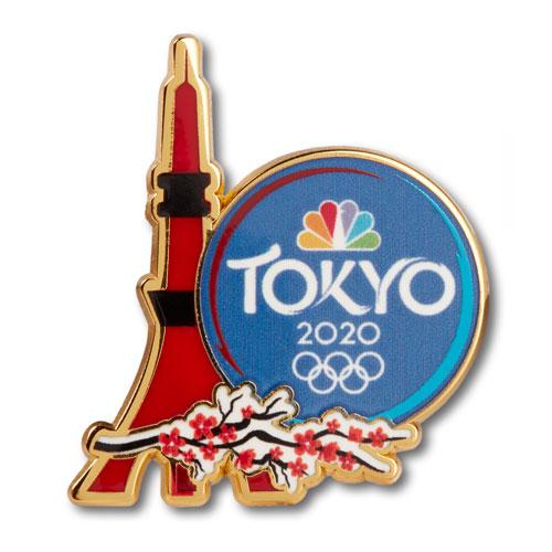 Tokyo Tower Pin