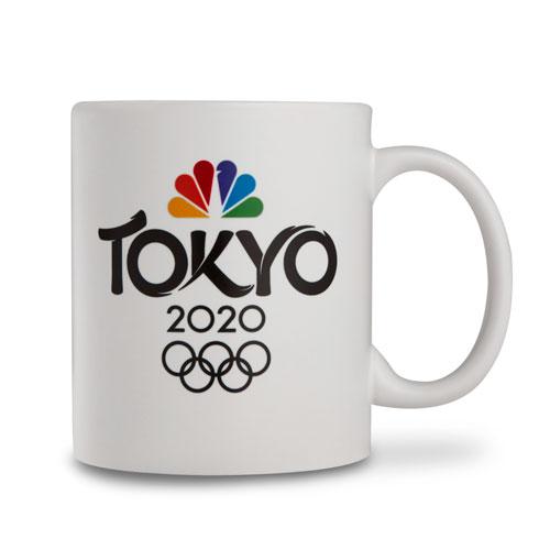 Tokyo 2020 11 oz Matte Mug White