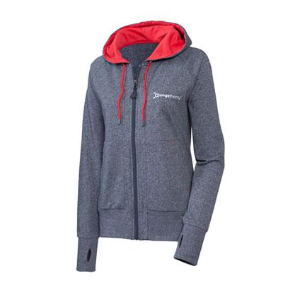 Orangetheory limited edition Grey & Red Hoodie