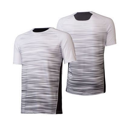 Push Tee with Stripes