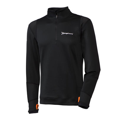 Black Quarter Zip