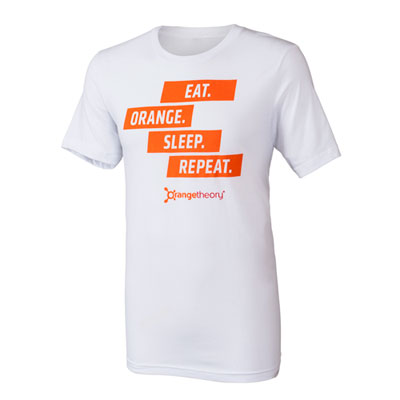Eat Orange Sleep Repeat Tee