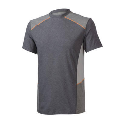 Colorblock Performance Crew Grey