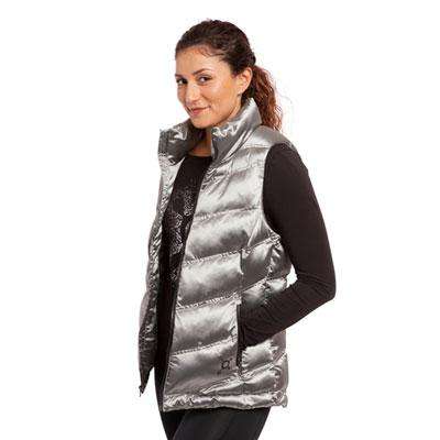 Metallic Puffer Vest