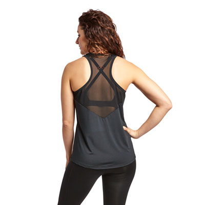Mesh Performance Racer Tank