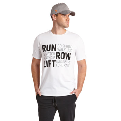Run Row Lift Strength Tee
