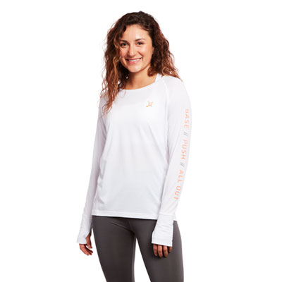Base Push All Out Rally Long Sleeve Tee